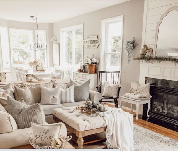 λευκό σαλόνι