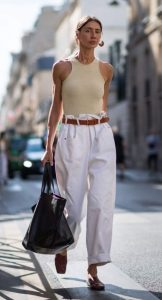 άσπρο outfit