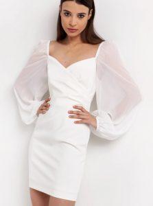 ασπρο βραδινό φόρεμα
