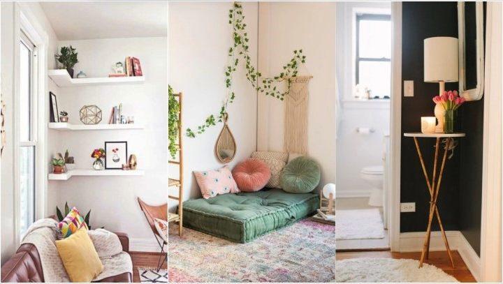 6 Κομψοί τρόποι να διακοσμήσεις τις γωνίες στο σπίτι σου!