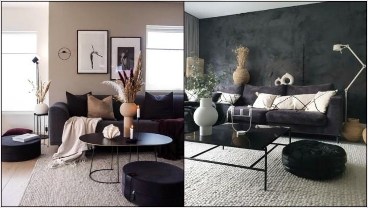 διακοσμητικά μοντέρνο σαλόνι