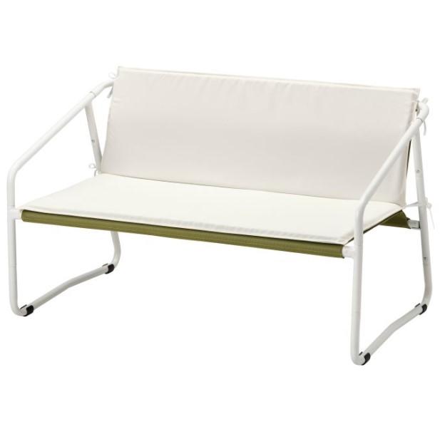 διθέσιος καναπές μπαλκονιού μικρό μπαλκόνι ΙΚΕΑ