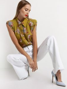 γλοράλ πουκάμισο με βάτες