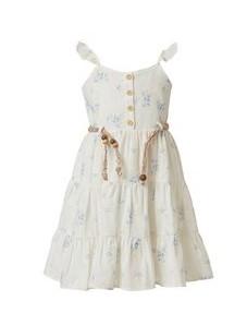 φορεμα λευκο με κουμπια