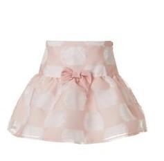 φουστα ροζ λευκη mini raxevsky
