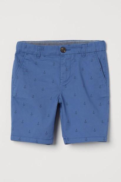 γαλάζια βερμούδα
