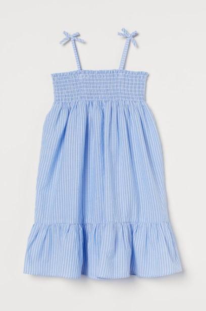 γαλάζιο φόρεμα τιραντάκι