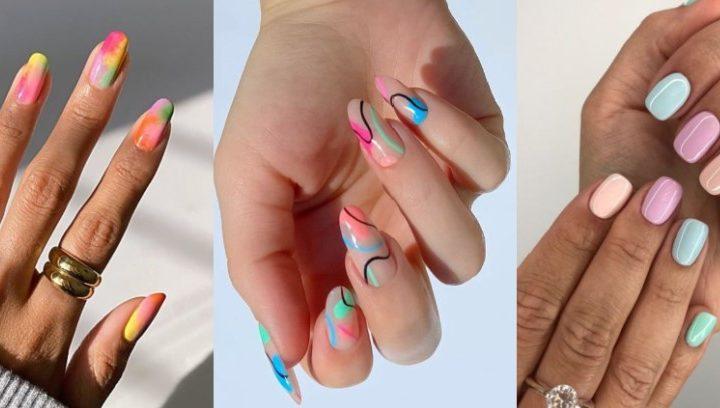 10 Χρωματιστά σχέδια στα νύχια για καλοκαιρινό μανικιούρ!