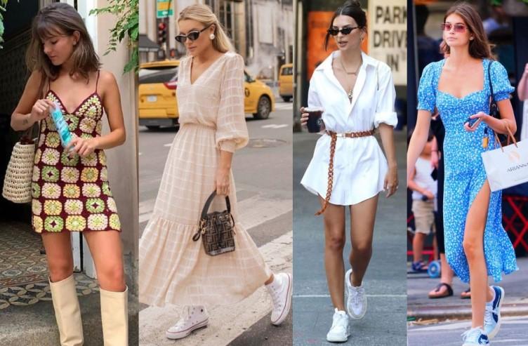 καλοκαιρινά φορέματα της μόδας
