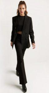 μαύρο ανοιξιάτικο ντύσιμο