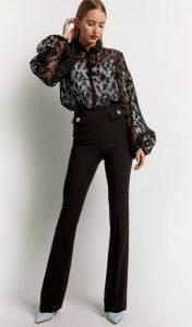 μαύρο επίσημο παντελόνι