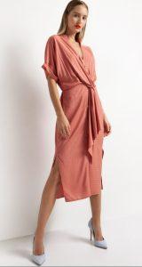 midi ανοιξιάτικο φόρεμα