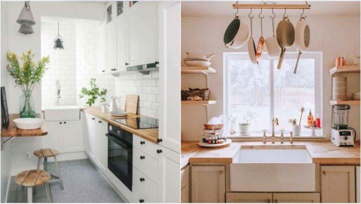 6 Κομψές ιδέες για να διακοσμήσεις μια μικρή κουζίνα!