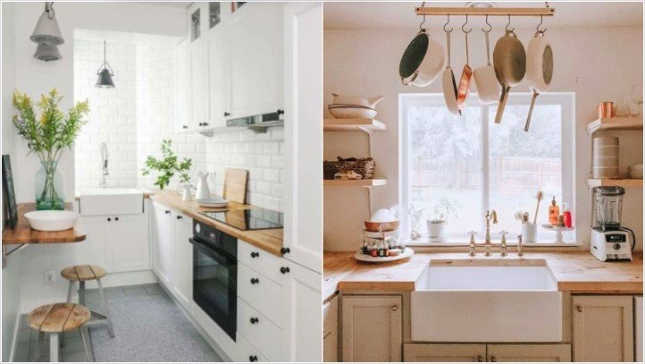διακοσμήσεις μικρή κουζίνα