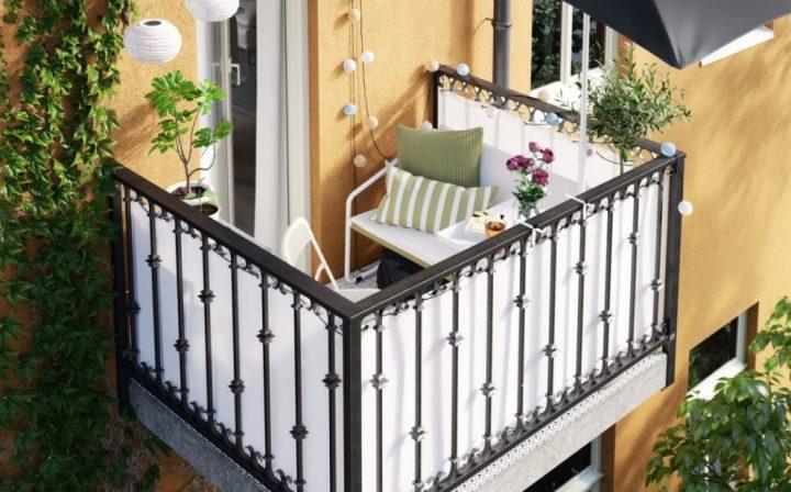 Υπέροχες προτάσεις διακόσμησης για μικρό μπαλκόνι από ΙΚΕΑ!