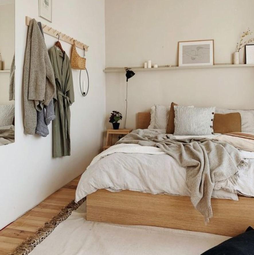 minimal κρεβατοκάμαρα