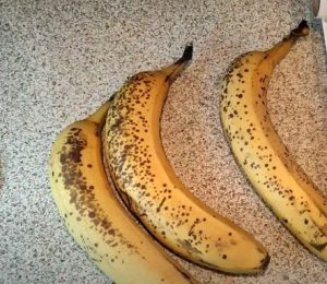 ώριμες μπανάνες για παγωτό