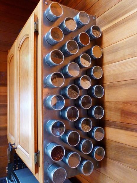 μπαχαρικά μαγνητάκια πλαϊνό μέρος ντουλαπιών