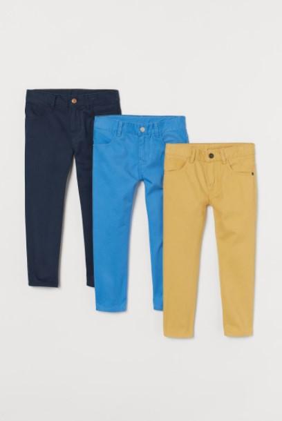 μπλε γαλάζιο κίτρινο παντελόνι