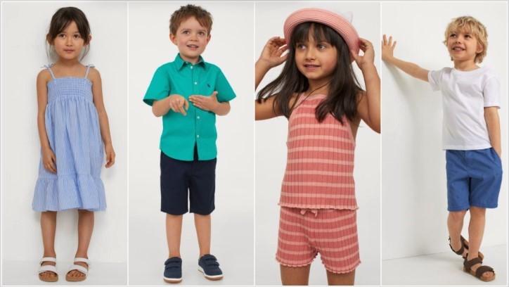 παιδικά ρούχα H&M καλοκαίρι 2021