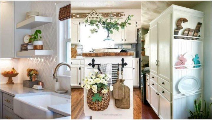 Ιδέες για να εκμεταλλευτείς το πλαϊνό μέρος των ντουλαπιών κουζίνας!