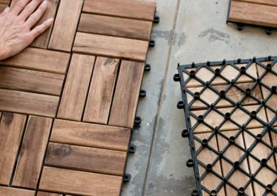 πλακίδια για πάτωμα μπαλκονιού εφέ ξύλο