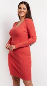 πλεκτό μινι φόρεμα