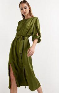 πράσινο αέρινο φόρεμα