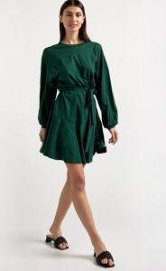 πράσινο μίνι φόρεμα
