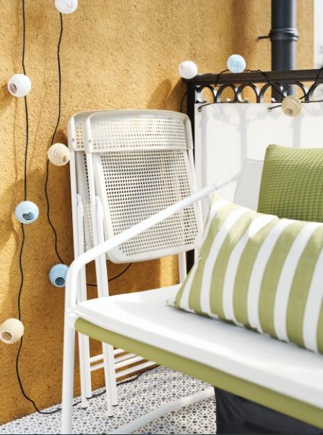 πτυσσόμενη καρέκλα μικρό μπαλκόνι ΙΚΕΑ