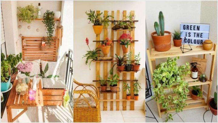 5 Ιδέες για εντυπωσιακά ράφια στο μπαλκόνι σου!