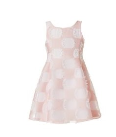 φορεμα λευκο ροζ