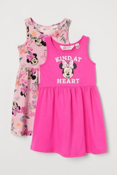 ροζ φορέματα minie