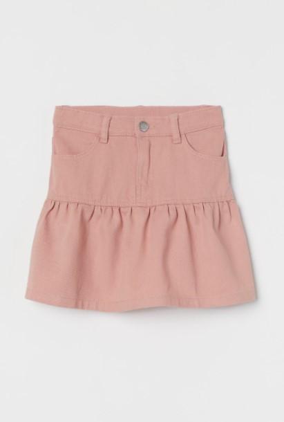 ροζ φούστα