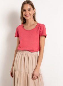 ροζ καλοκαιρινό μπλουζάκι