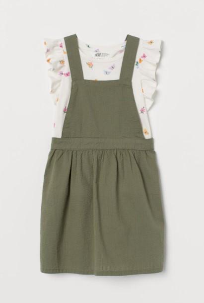 σαλοπέτα μπλούζα παιδικά ρούχα H&M καλοκαίρι 2021