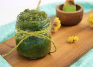 scrub πράσινο τσαι