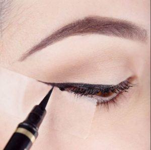 σελοτειπ για eyeliner
