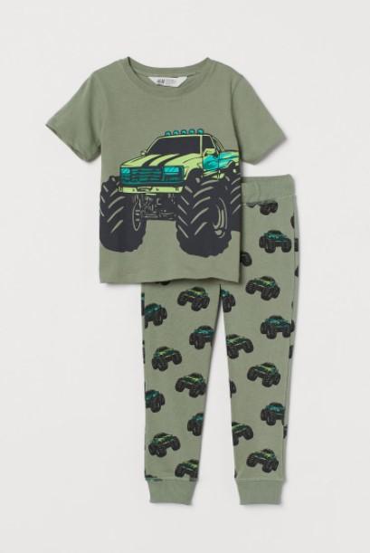σετ τρακτέρ παιδικά ρούχα H&M καλοκαίρι 2021