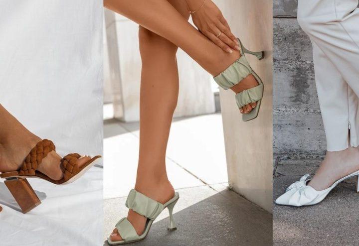 9 Τάσεις σε γυναικείες παντόφλες και mules για το καλοκαίρι!