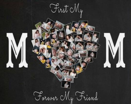 γιορτή μητέρας φωτογραφίες σε χαρτόνι