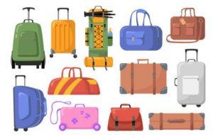 διάφορα είδη βαλίτσας