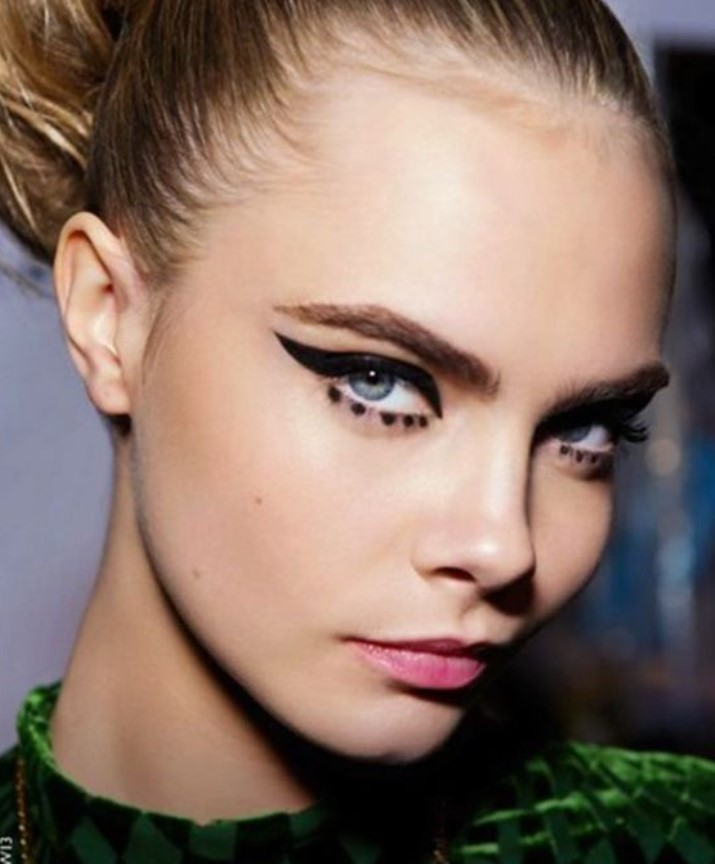 eyeliner στα μάτια