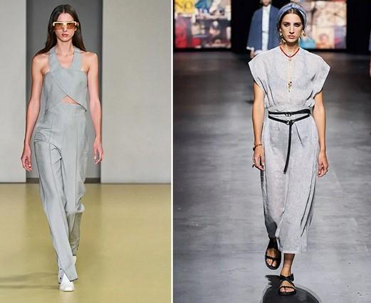 γκρι χρώματα ρούχα 2021 καλοκαίρι