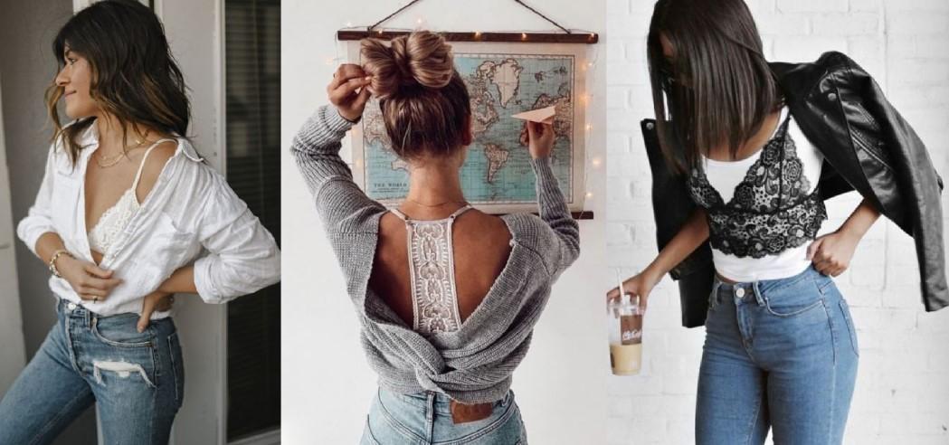 γυναικεία ντυσίματα με brallete