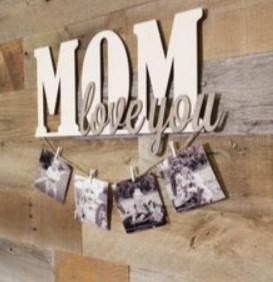 καδράκι με φωτογραφίες μαμά
