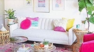 ιδέες καλοκαιρινής διακόσμησης σπιτιού χρώματα