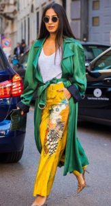 καλοκαιρινό ντύσιμο με χρώμα