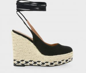 μαύρη πλατφόρμα ψηλή παπούτσια καλοκαίρι