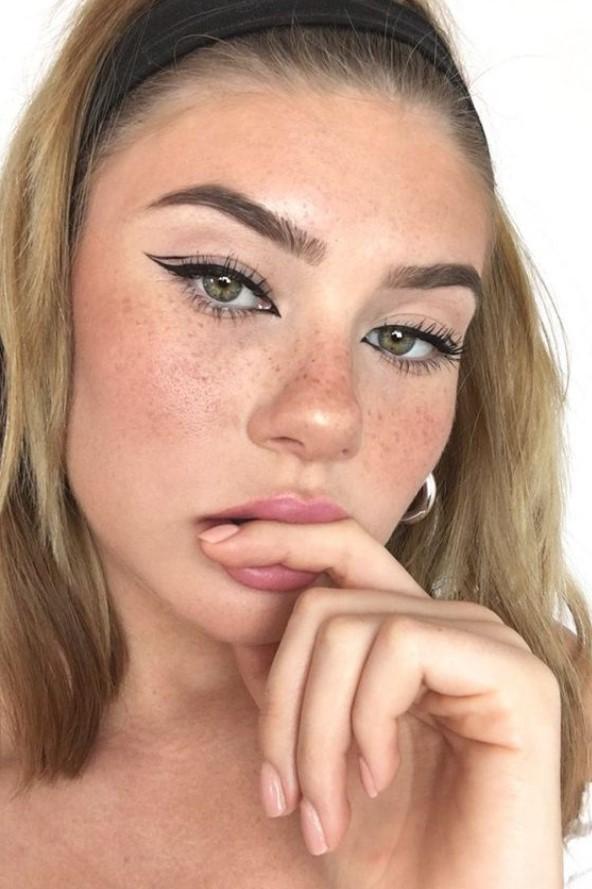 μοντέρνο βάψιμο στα μάτια